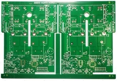 Cina 2 Lapisan FR-4 Power Supply PCB Shengyi S1000-2 HASL 3oz Untuk Switching Power Supply pemasok
