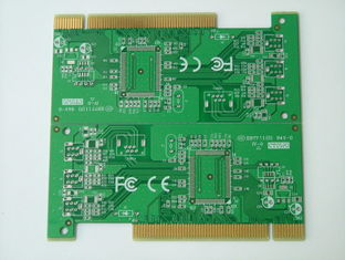 Cina Papan PCB multilayer High TG Hard Golden Finger 6 Layer Pcb pemasok