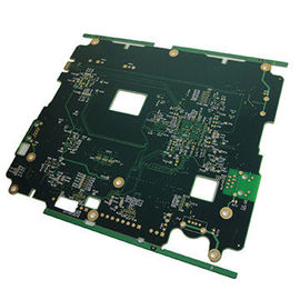 Cina FR4 Tg180 6 layer Power Supply PCB Minimum Trace / Space 0.1mm pemasok