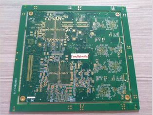 Cina High Density Interconnect HDI Printed Circuit Board 12 Layers, Min 2 Mil Line Width High TG pemasok