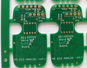 "Cina Tahan lama Multilayer PCB Circuit Board 4 Layers FR-4 Tg150 1.0mm 1 / H / H / 1 Oz Tembaga ENIG 1U "" pemasok"