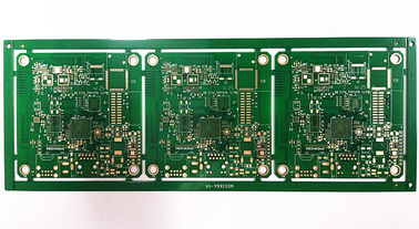 Cina Papan HDI Printed Circuit Elektronik FR-4 Immersion Gold Surface Treatment pemasok