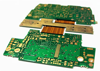 Cina OSP Rigid - Flex Multilayer PCB Board ENIG Plating Gold Untuk Kamera Digital pemasok