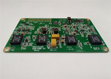 Cina Lead Free Printed Circuit Board Assembly 4 Layers 1OZ White Silkscreen ISO Approval pemasok