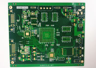 Cina Multilayer Power Supply PCB Rigid Printed Circuit Board ENIG 2 U 'White Silkscreen perusahaan